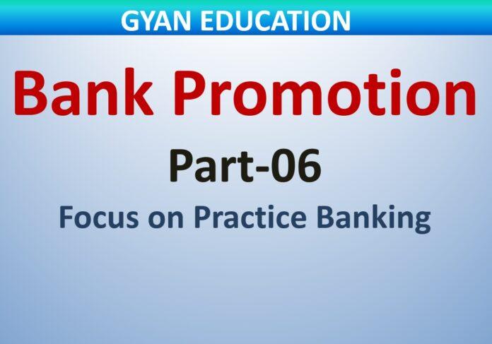 Bank promotion mock Test-06